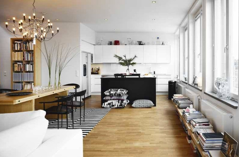 Un piso de 1930 con decoraci??n moderna